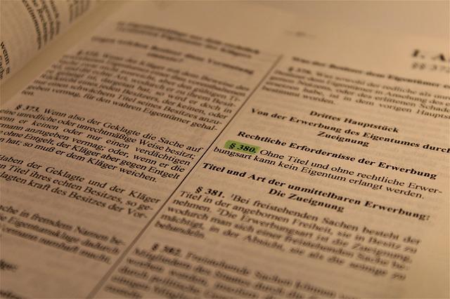 Gesetzestext, Kanzlei Wenzl Eggenfelden